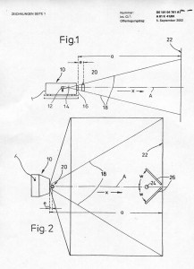 Projection Patent Graphic